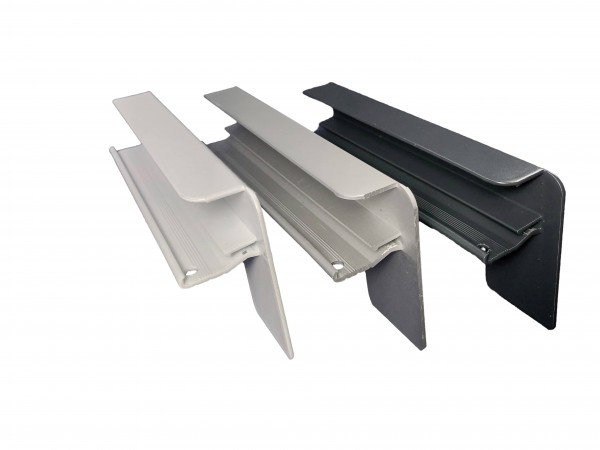 Aluminium Putzabschluss | 1 Paar (links + rechts)