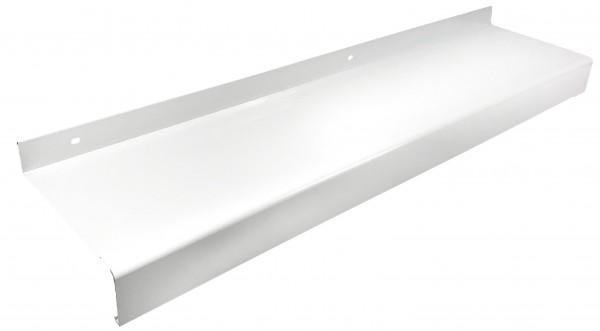 Aluminium Fensterbank weiß RAL 9016